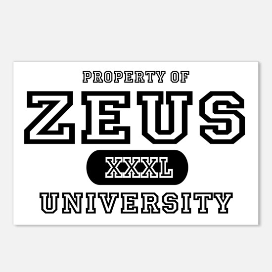 Zeus University Property Postcards (Package of 8)