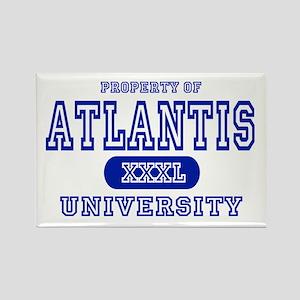 Atlantis University Rectangle Magnet