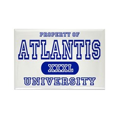 Atlantis University Rectangle Magnet (10 pack)