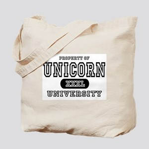 Unicorn University Property Tote Bag