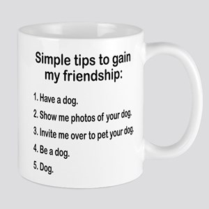 DOG LOVER GIFT DOG PERSON TIPS TO BE MY FRIEND. Tr
