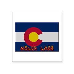 Colorado Molon Labe Sticker