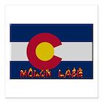 Colorado Molon Labe Square Car Magnet 3
