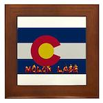Colorado Molon Labe Framed Tile