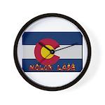 Colorado Molon Labe Wall Clock