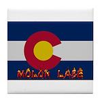 Colorado Molon Labe Tile Coaster