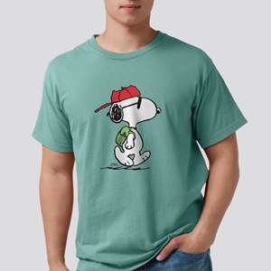 Peanuts Back to School Mens Comfort Colors Shirt