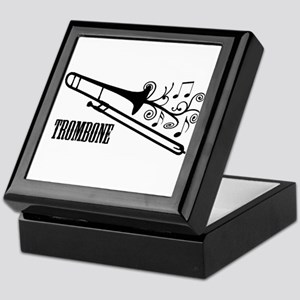 Trombone swirls Keepsake Box