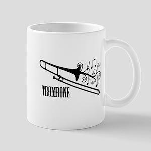 Trombone swirls Mug
