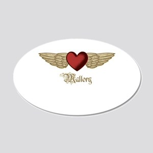 Mallory the Angel Wall Decal