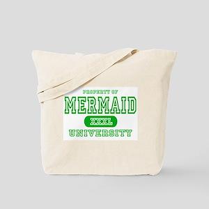 Mermaid University Tote Bag