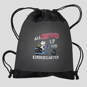Snoopy Kindergarten Drawstring Bag