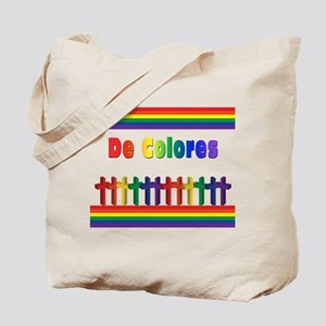 De Colores Marching Crosses Tote Bag