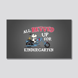 Snoopy Kindergarten Car Magnet 20 x 12