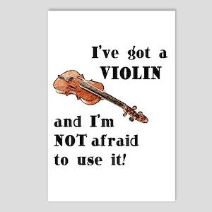 I've Got A Violin Postcards (Package of 8)