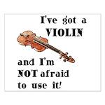 I've Got A Violin Small Poster
