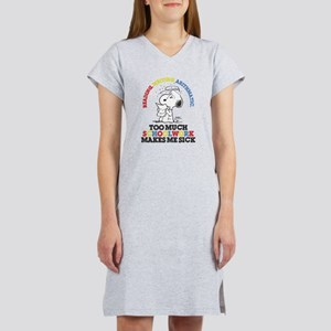 Snoopy Reading Writing T-Shirt