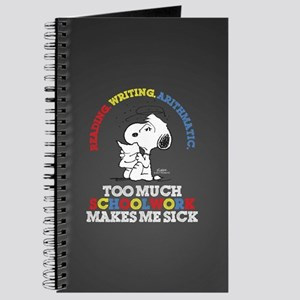 Snoopy Reading Writing Journal