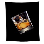 Whisky On The Rocks Wall Tapestry