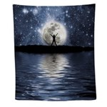 Between Heaven And Earth Wall Tapestry