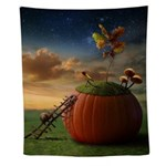 Surreal Stargazer Snail Wall Tapestry