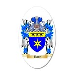 Bardy 20x12 Oval Wall Decal
