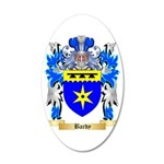 Bardy 35x21 Oval Wall Decal