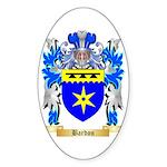 Bardon Sticker (Oval 50 pk)