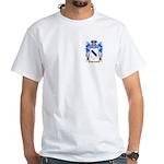 Bardfield White T-Shirt