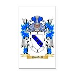 Bardfield Rectangle Car Magnet