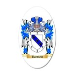 Bardfield 20x12 Oval Wall Decal