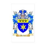 Bardet Sticker (Rectangle 50 pk)