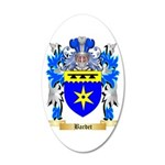 Bardet 20x12 Oval Wall Decal