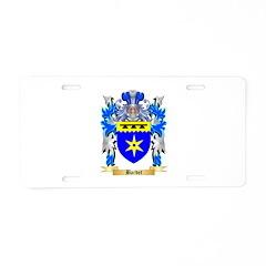 Bardet Aluminum License Plate