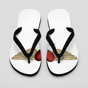 Marie the Angel Flip Flops