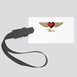 Marie the Angel Luggage Tag