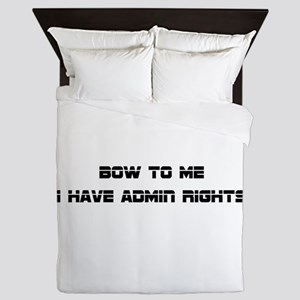 Admin Rights Queen Duvet