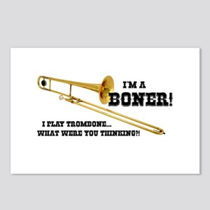 Funny Trombone Postcards (Package of 8)
