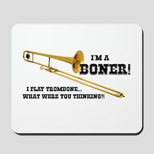 Funny Trombone Mousepad