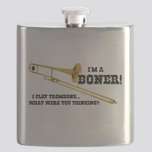 Funny Trombone Flask
