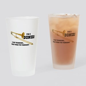 Funny Trombone Drinking Glass