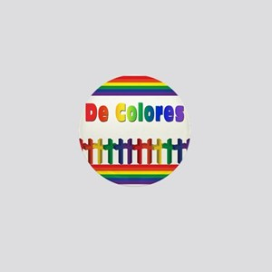 De Colores Marching Crosses Mini Button