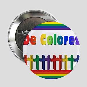 """De Colores Marching Crosses 2.25"""" Button"""