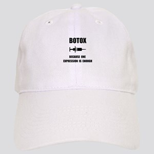 Botox Expression Baseball Cap