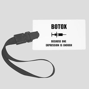 Botox Expression Luggage Tag