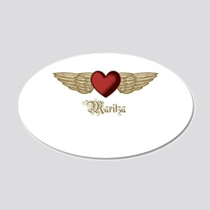 Maritza the Angel Wall Decal