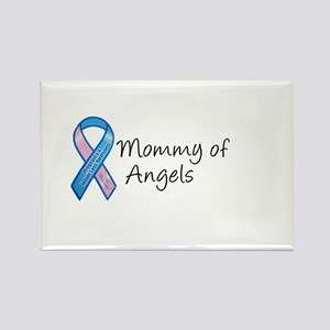 Mommy of Angels Rectangle Magnet