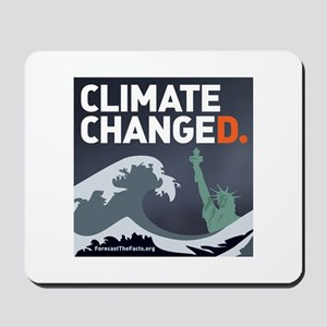 Climate ChangeD Mousepad