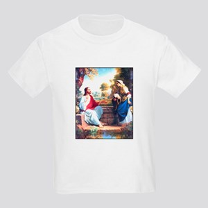 Jesus at the Well Kids T-Shirt