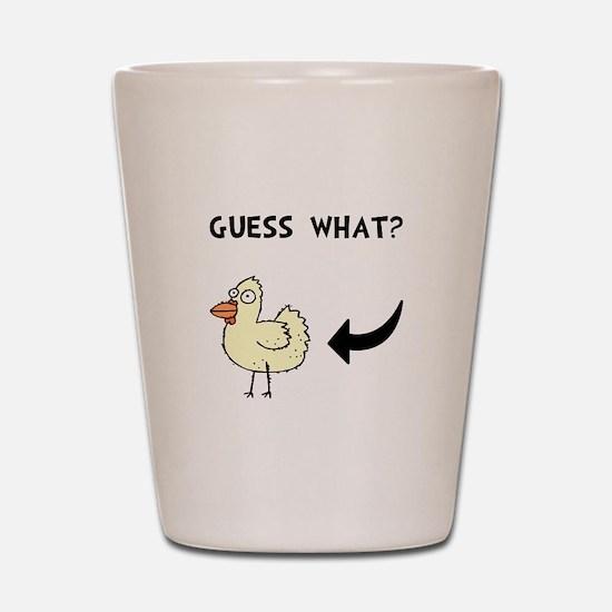 Chicken Butt Shot Glass